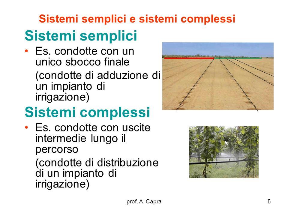 Sistemi semplici e sistemi complessi
