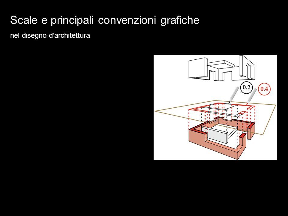 Scale e principali convenzioni grafiche