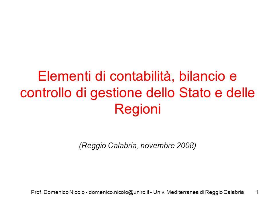 (Reggio Calabria, novembre 2008)