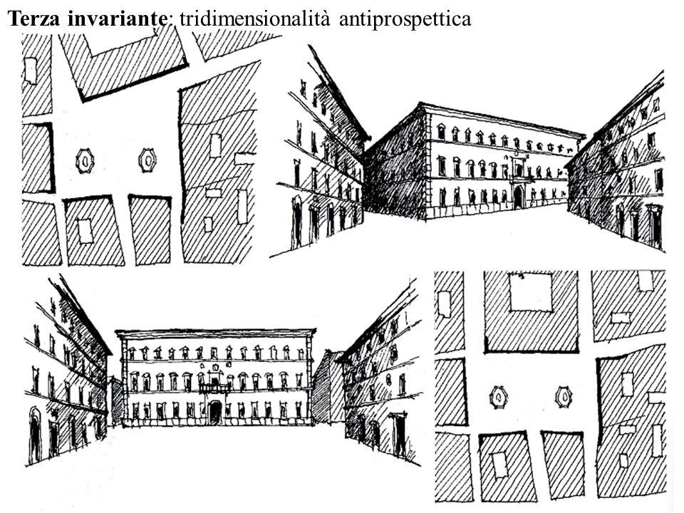 Terza invariante: tridimensionalità antiprospettica