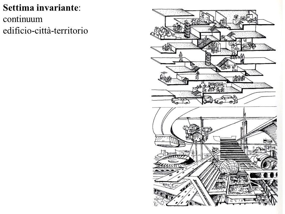 Settima invariante: continuum edificio-città-territorio