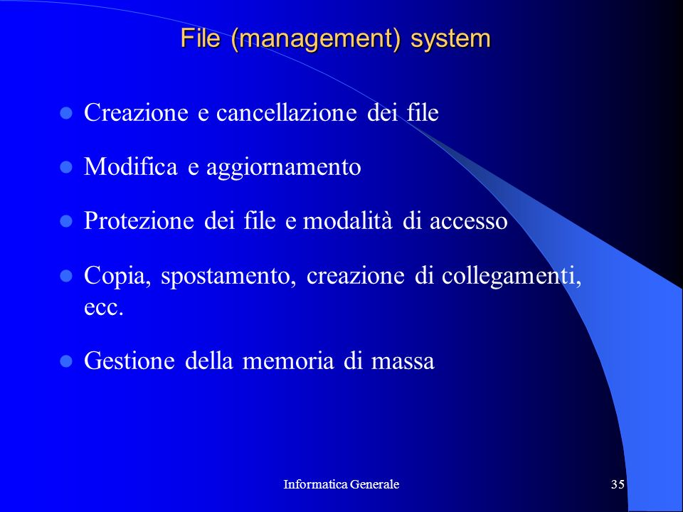 File (management) system