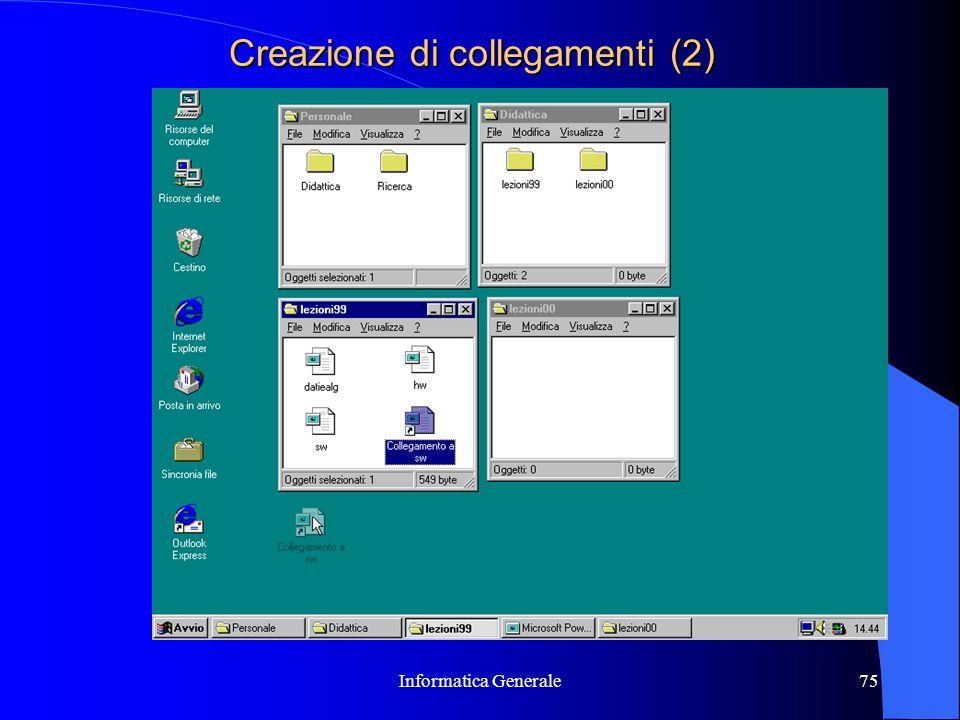 Creazione di collegamenti (2)