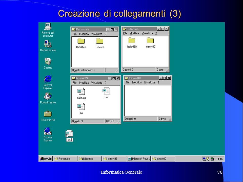 Creazione di collegamenti (3)