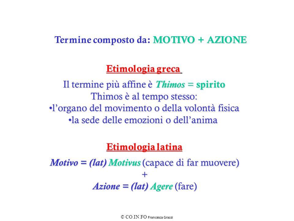 Etimologia greca Etimologia latina