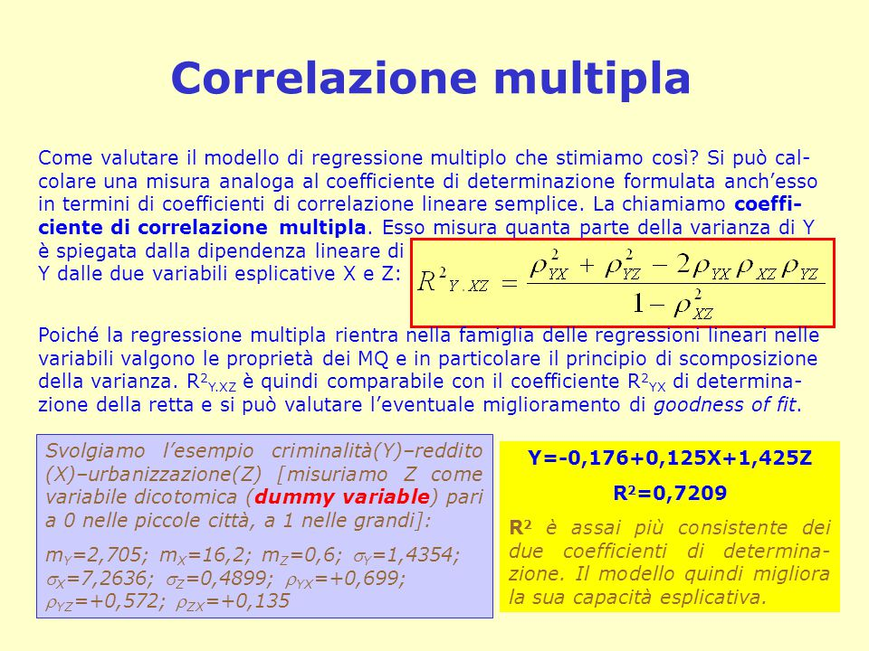 Correlazione multipla