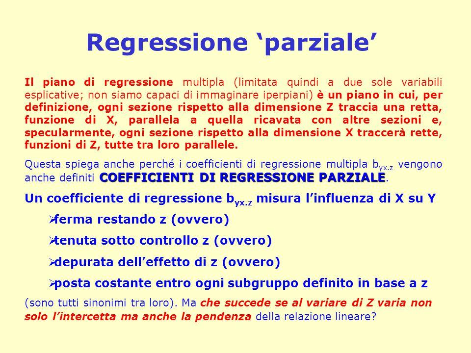 Regressione 'parziale'