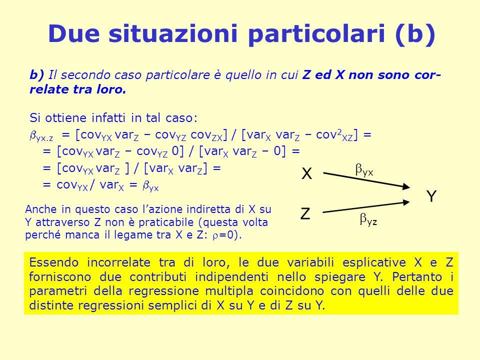 Due situazioni particolari (b)