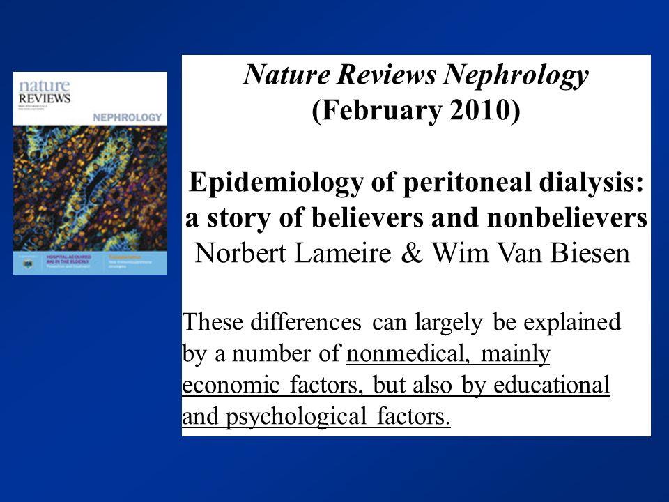Nature Reviews Nephrology (February 2010)