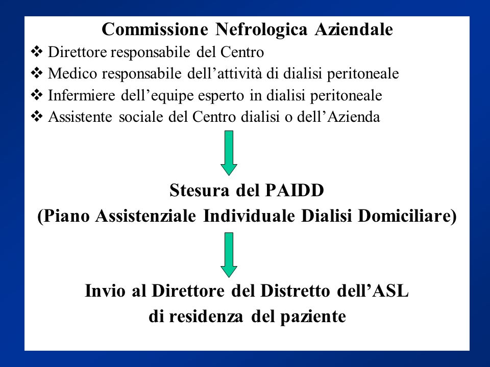 Commissione Nefrologica Aziendale