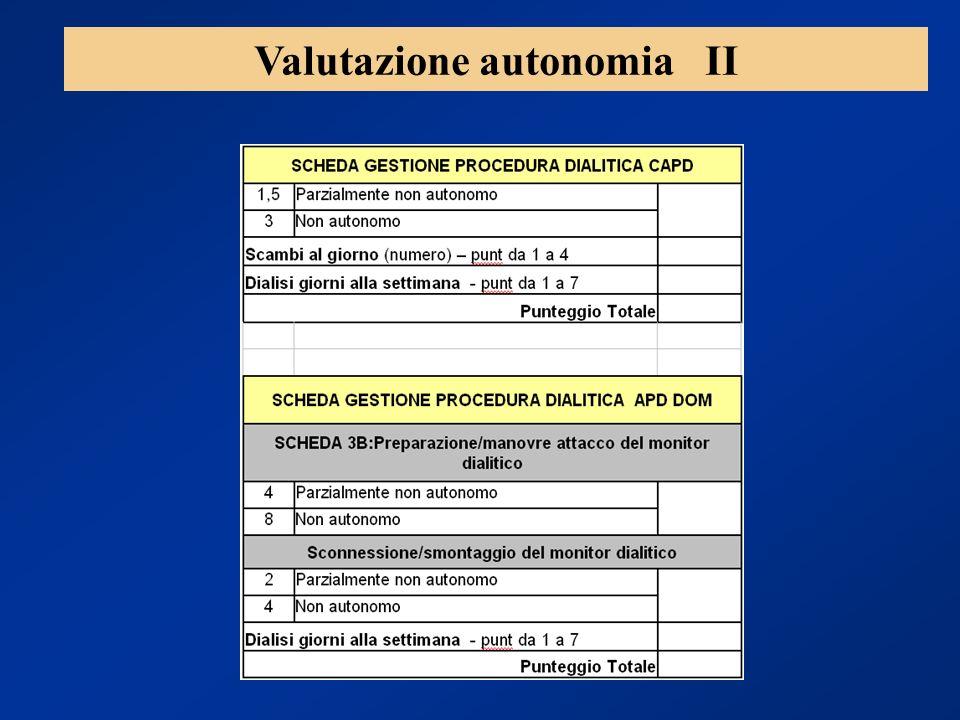 Valutazione autonomia II