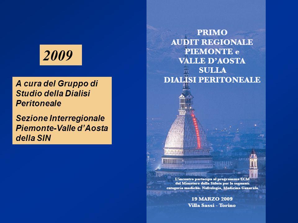 2009 A cura del Gruppo di Studio della Dialisi Peritoneale