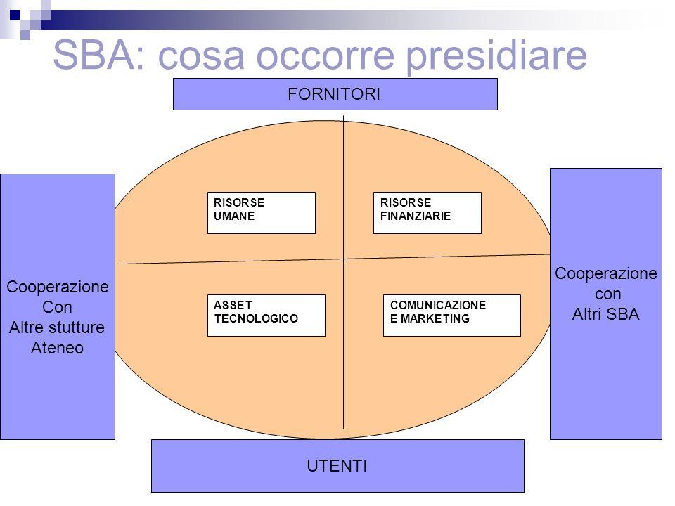 SBA: cosa occorre presidiare