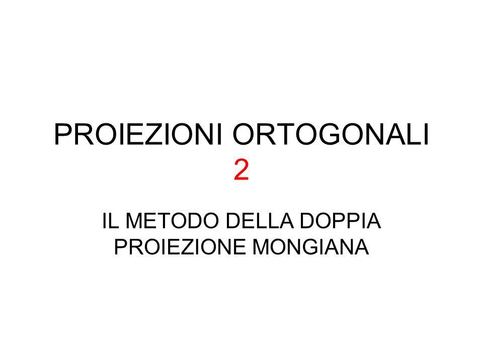 PROIEZIONI ORTOGONALI 2