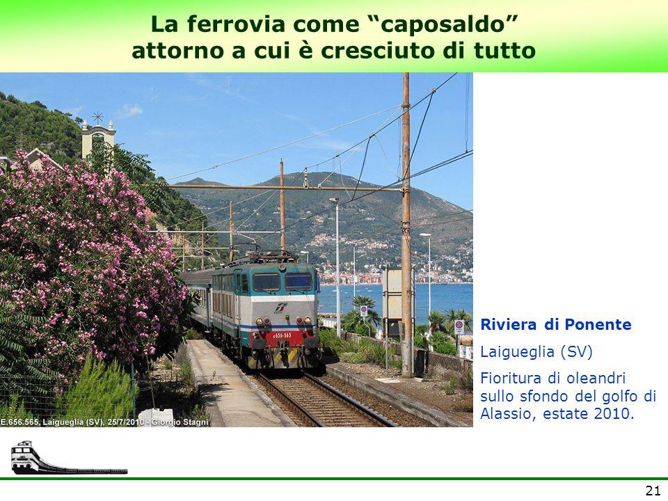 La ferrovia come caposaldo attorno a cui è cresciuto di tutto