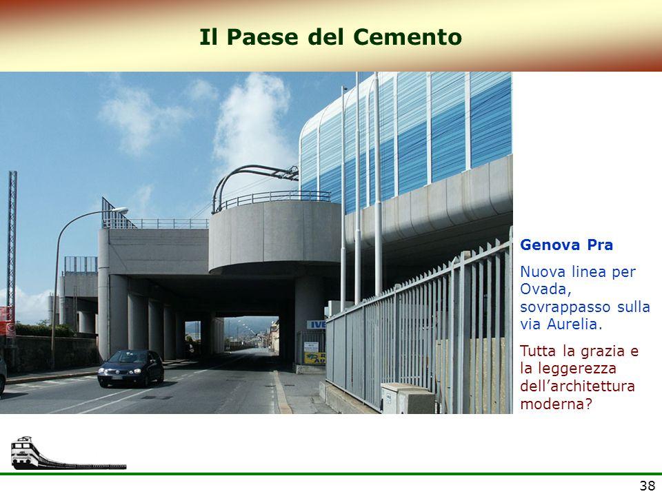 Il Paese del Cemento Genova Pra