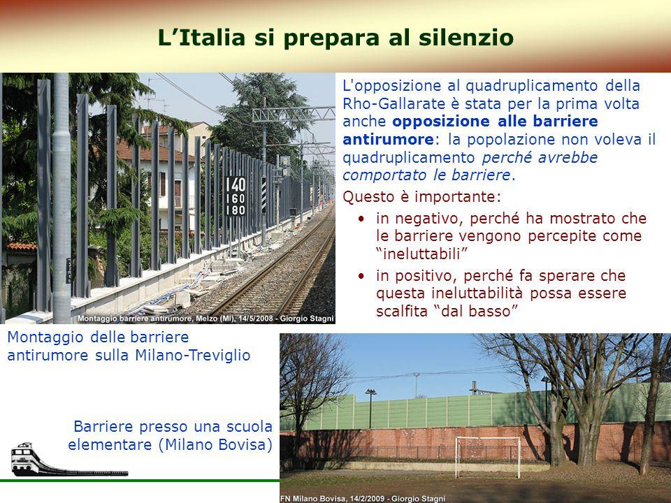 L'Italia si prepara al silenzio