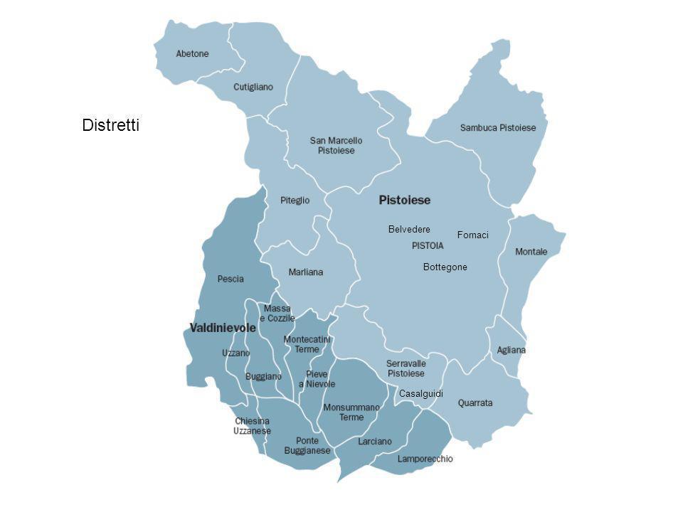 Distretti Belvedere Fornaci Bottegone Casalguidi