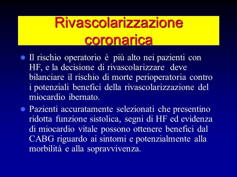 Rivascolarizzazione coronarica