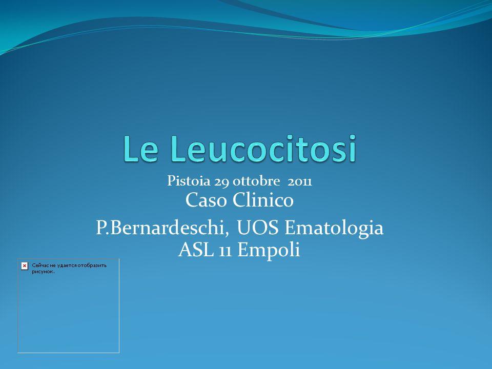 P.Bernardeschi, UOS Ematologia