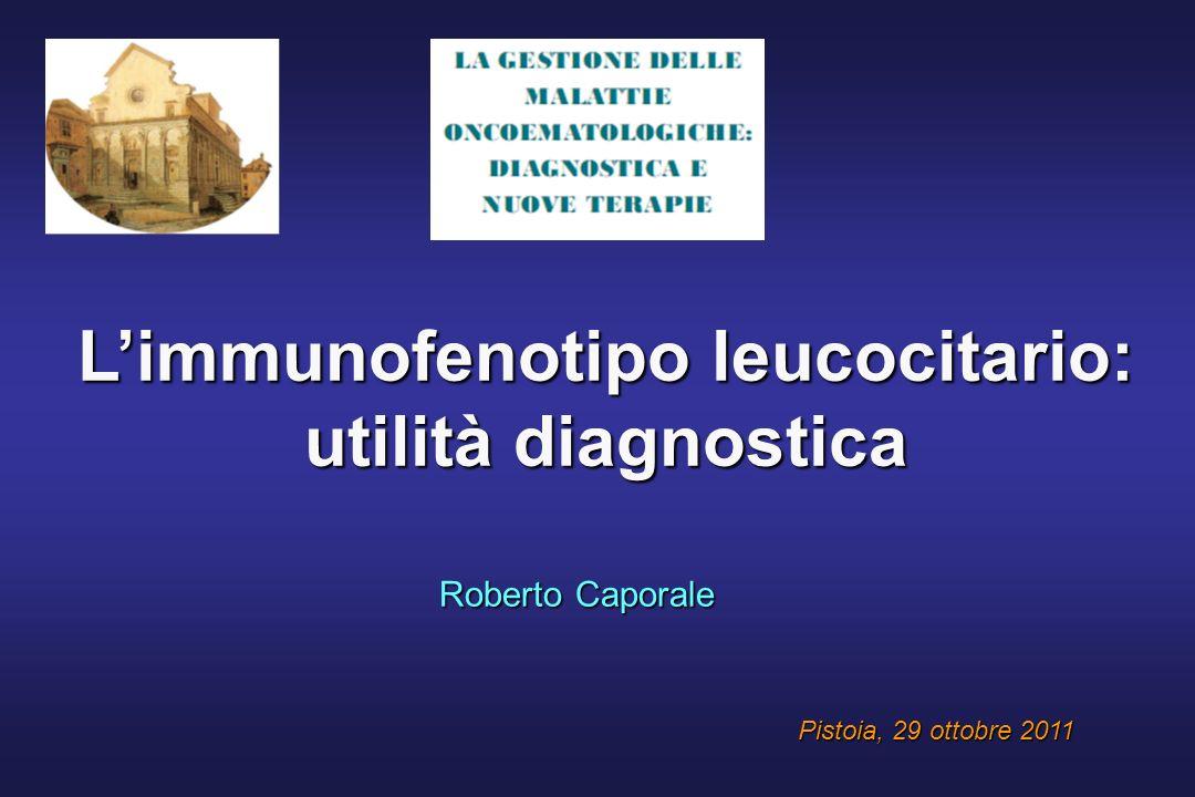 L'immunofenotipo leucocitario: utilità diagnostica