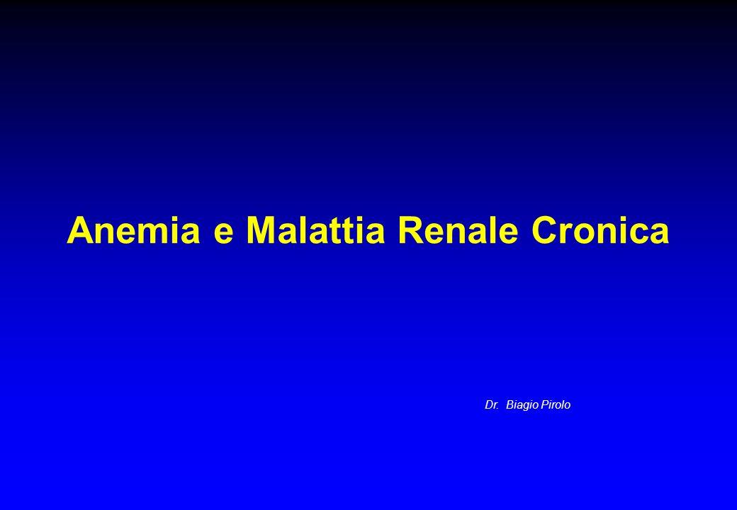 Anemia e Malattia Renale Cronica