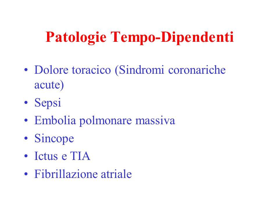 Patologie Tempo-Dipendenti