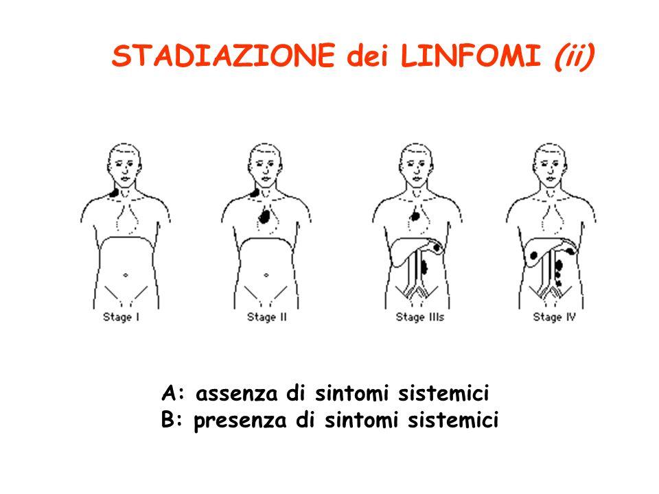 STADIAZIONE dei LINFOMI (ii)