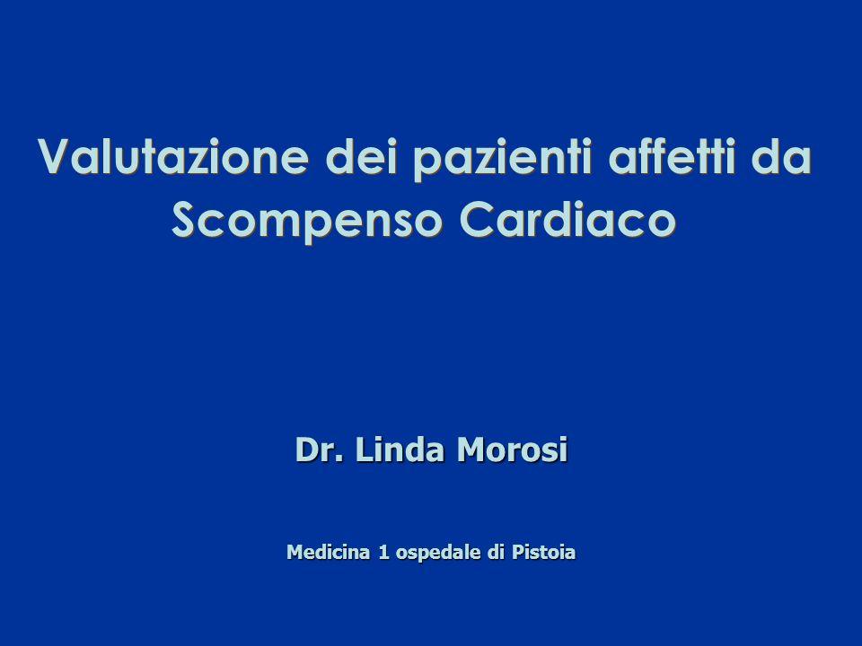 Valutazione dei pazienti affetti da Scompenso Cardiaco