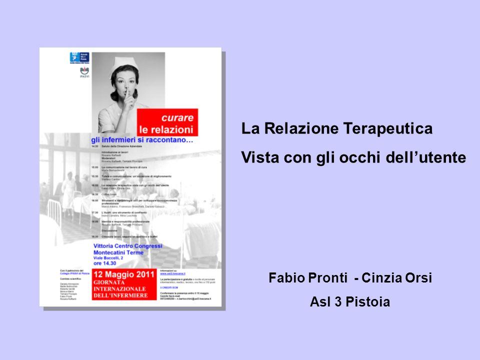 Fabio Pronti - Cinzia Orsi