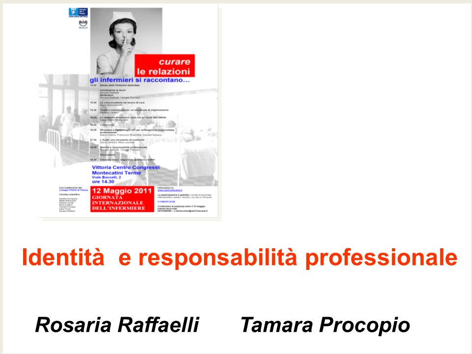 Identità e responsabilità professionale