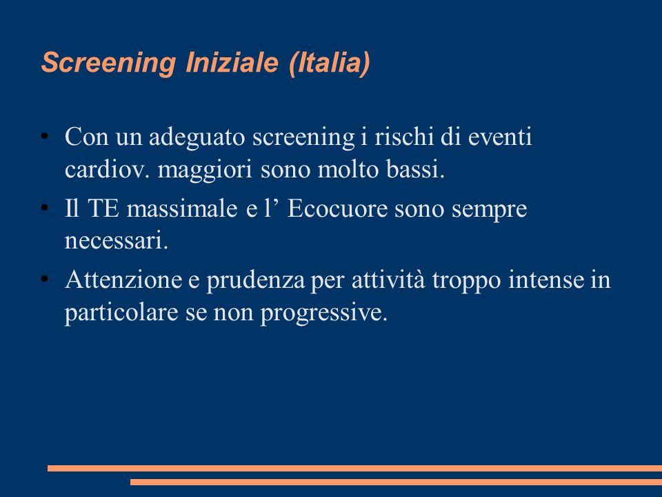 Screening Iniziale (Italia)