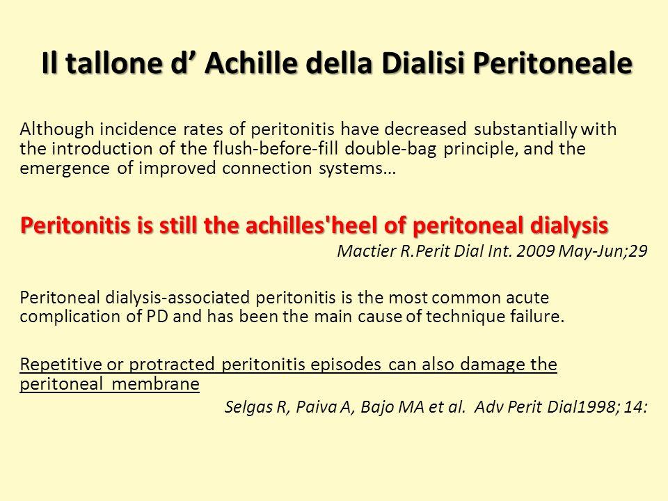 Il tallone d' Achille della Dialisi Peritoneale