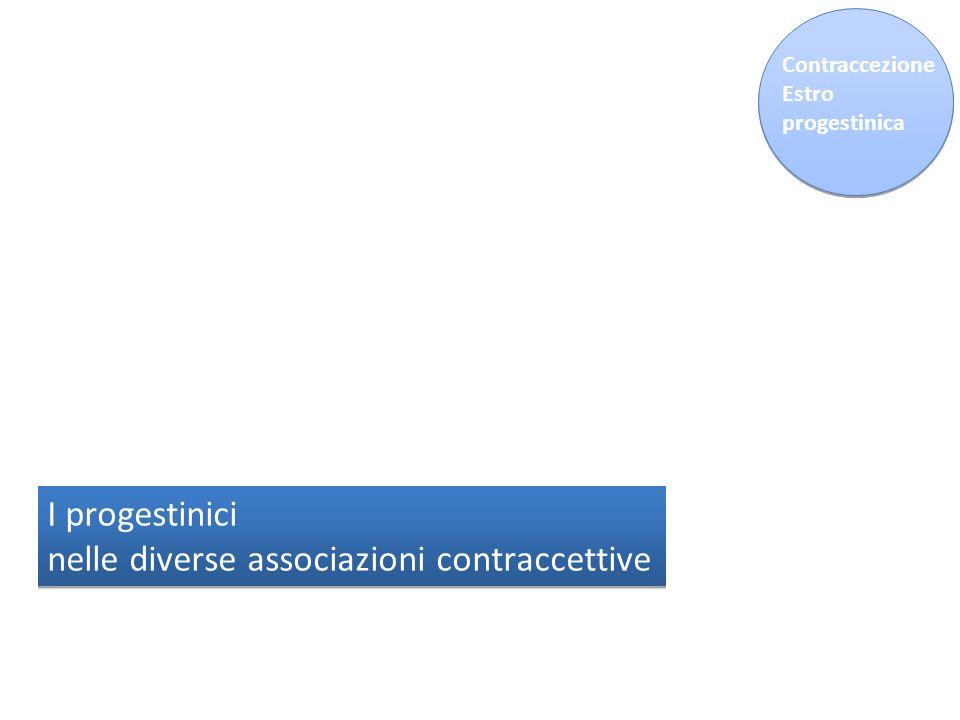 nelle diverse associazioni contraccettive