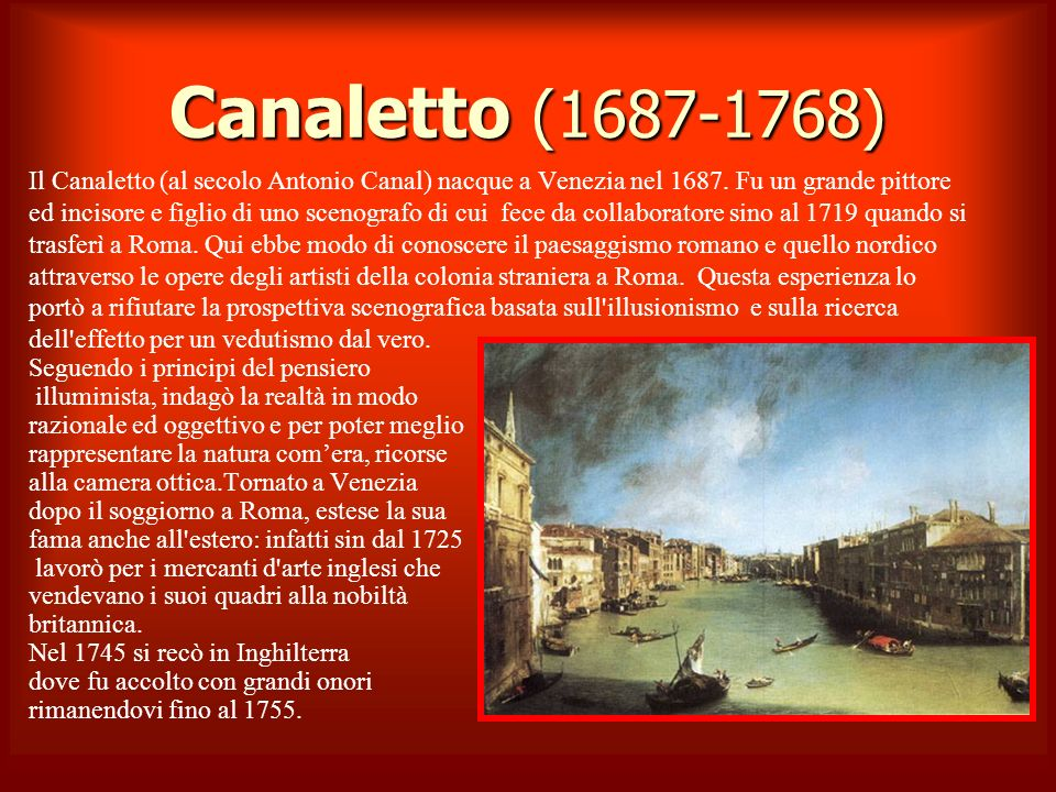 Canaletto (1687-1768)