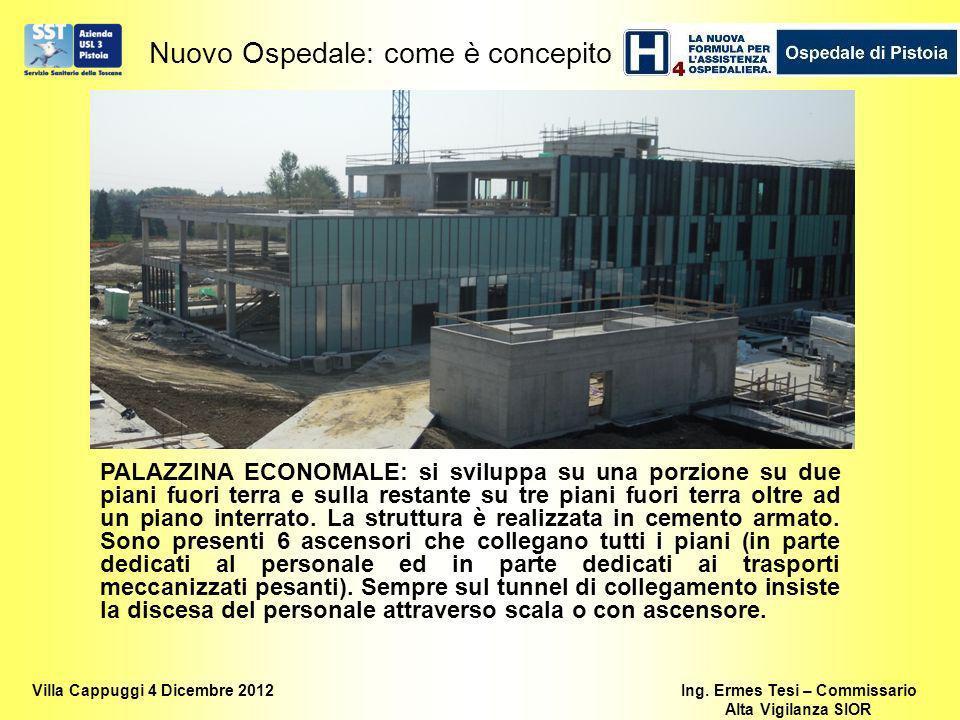 Nuovo Ospedale: come è concepito