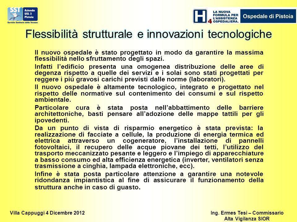 Flessibilità strutturale e innovazioni tecnologiche