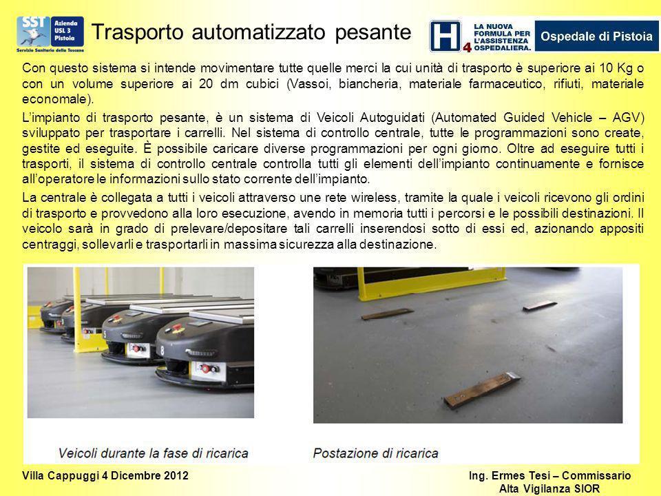 Trasporto automatizzato pesante