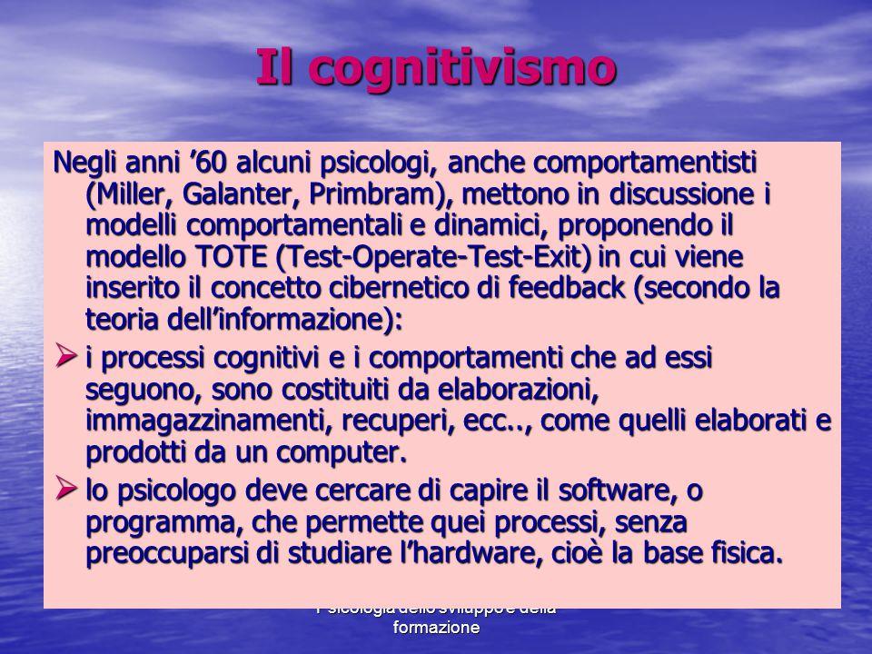 Il cognitivismo