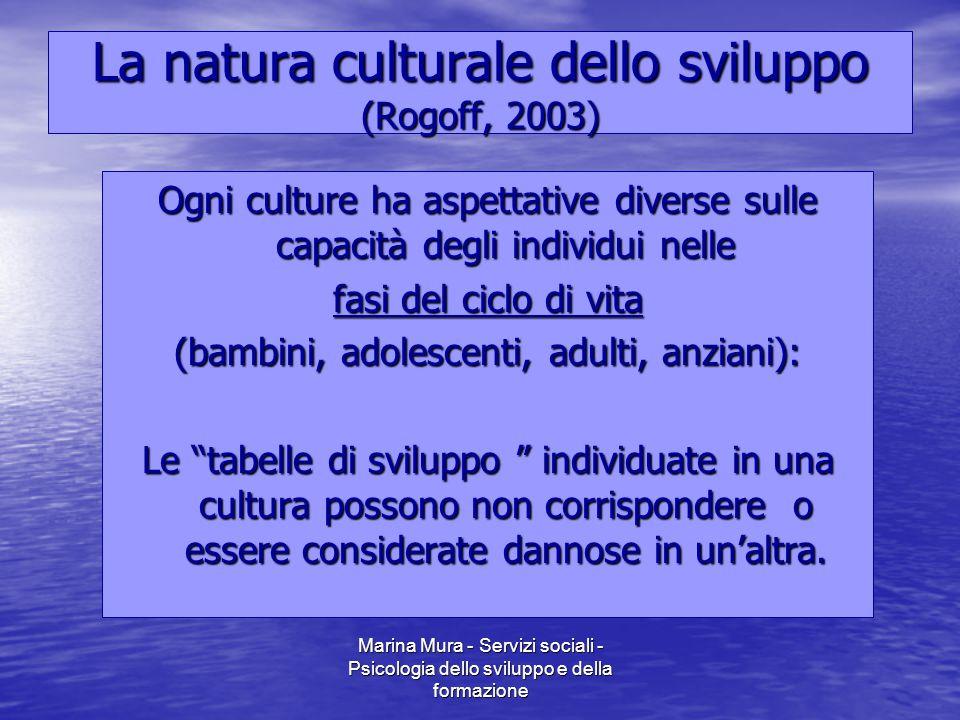 La natura culturale dello sviluppo (Rogoff, 2003)