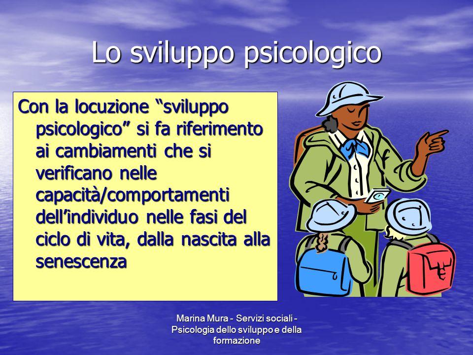Lo sviluppo psicologico