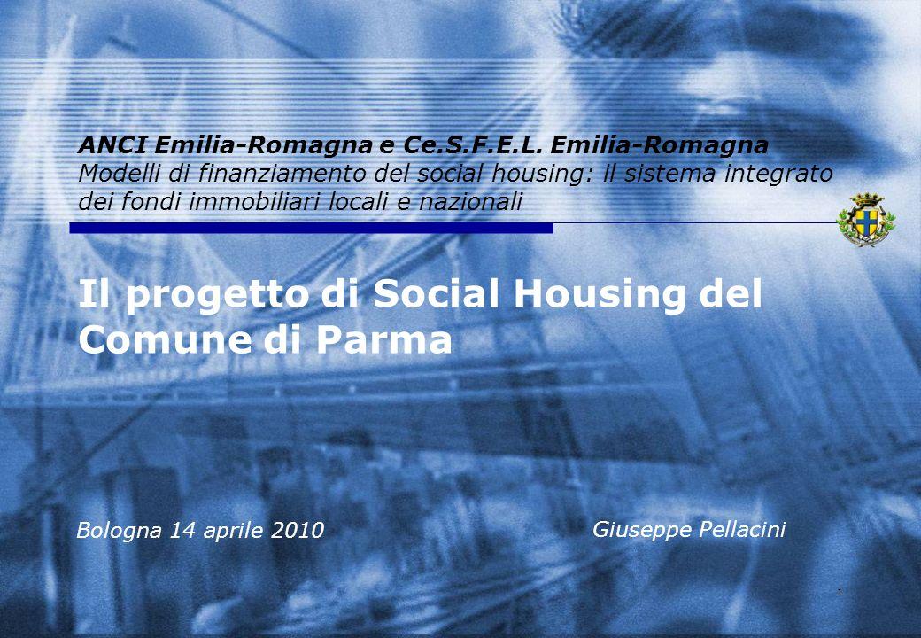 Il progetto di Social Housing del Comune di Parma