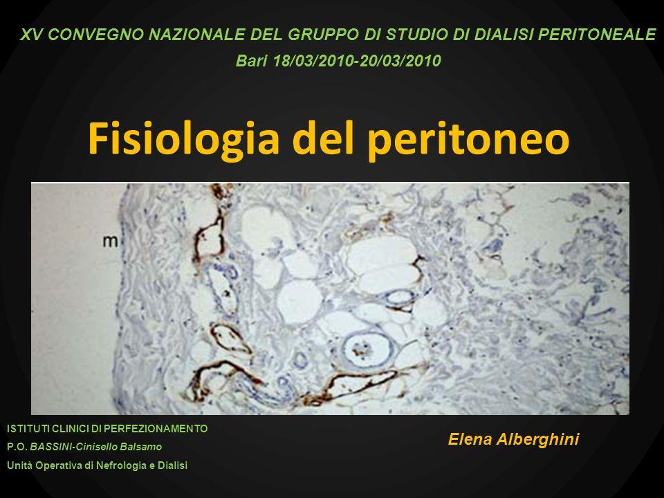Fisiologia del peritoneo