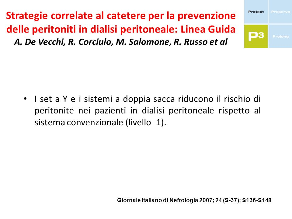 Strategie correlate al catetere per la prevenzione