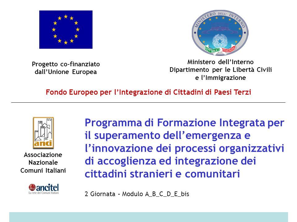 dott. Paolo Fasano, responsabile Centro Immigrati, U. O