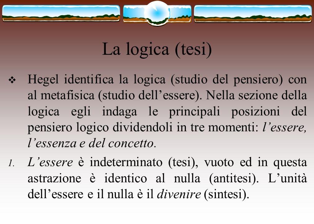 La logica (tesi)