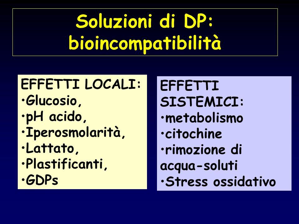 Soluzioni di DP: bioincompatibilità