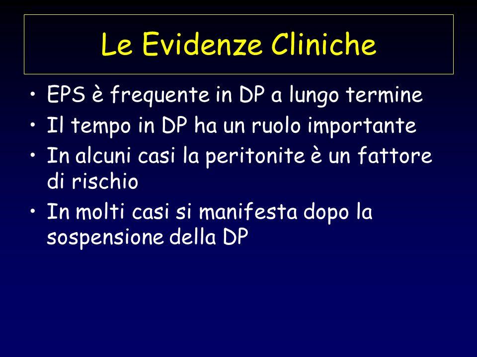 Le Evidenze Cliniche EPS è frequente in DP a lungo termine