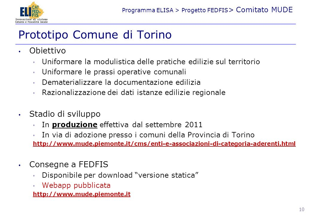 Prototipo Comune di Torino