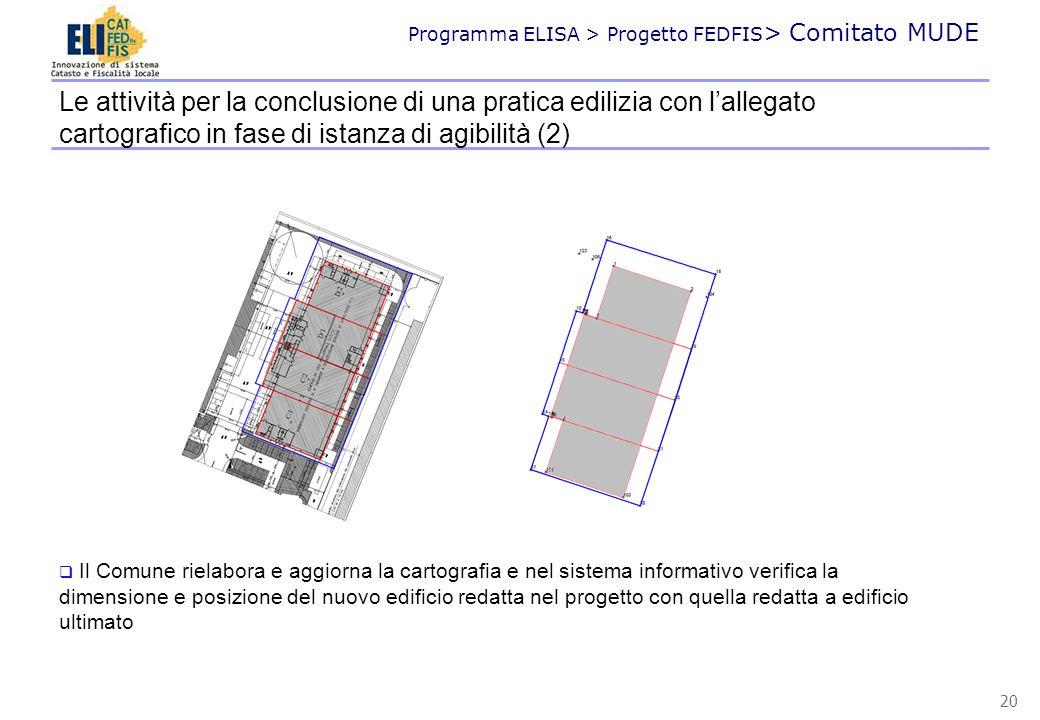 Le attività per la conclusione di una pratica edilizia con l'allegato cartografico in fase di istanza di agibilità (2)